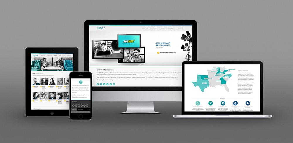 Asher Agency Website