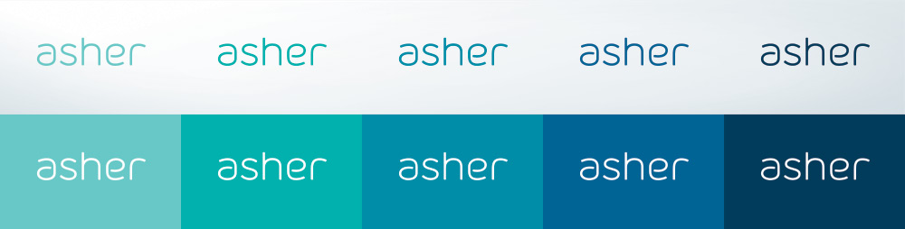 Asher Agency logo variants