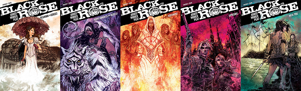 Black Rose: Issue Covers