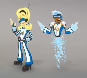 Credit Union 3: Character Illustrations