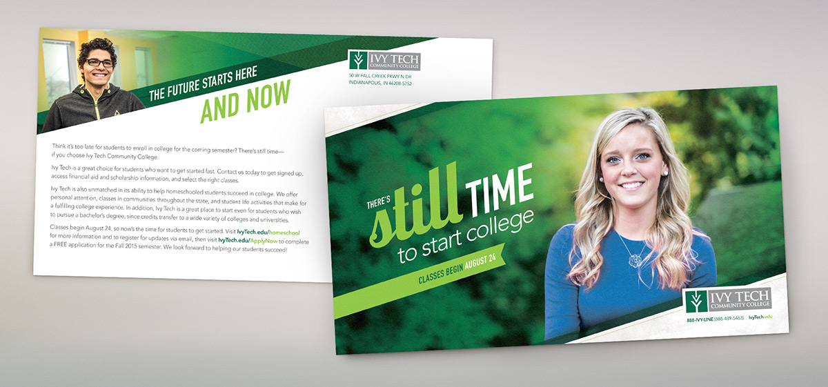 Ivy Tech Direct Mail
