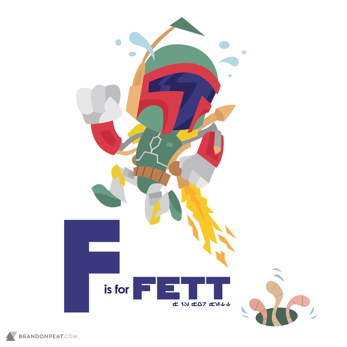 A Is For Ackbar: F Is For Fett