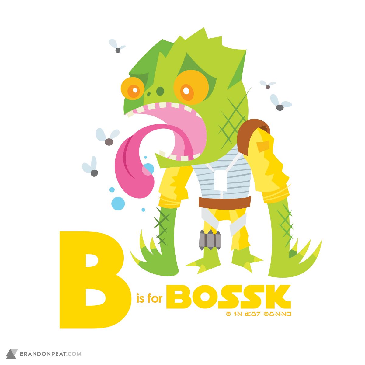A Is For Ackbar: B Is For Bossk