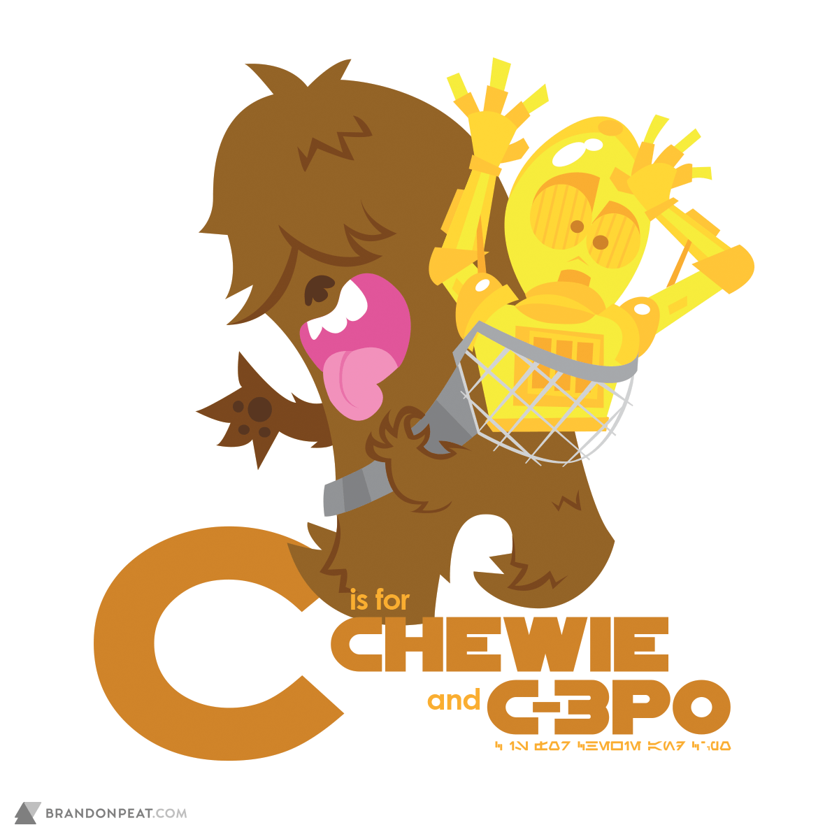A Is For Ackbar: C Is For Chewie and C-3PO