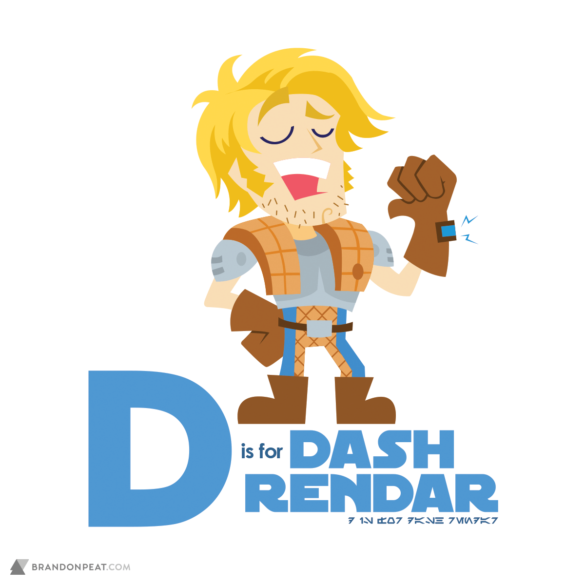 A Is For Ackbar: D Is For Dash Rendar