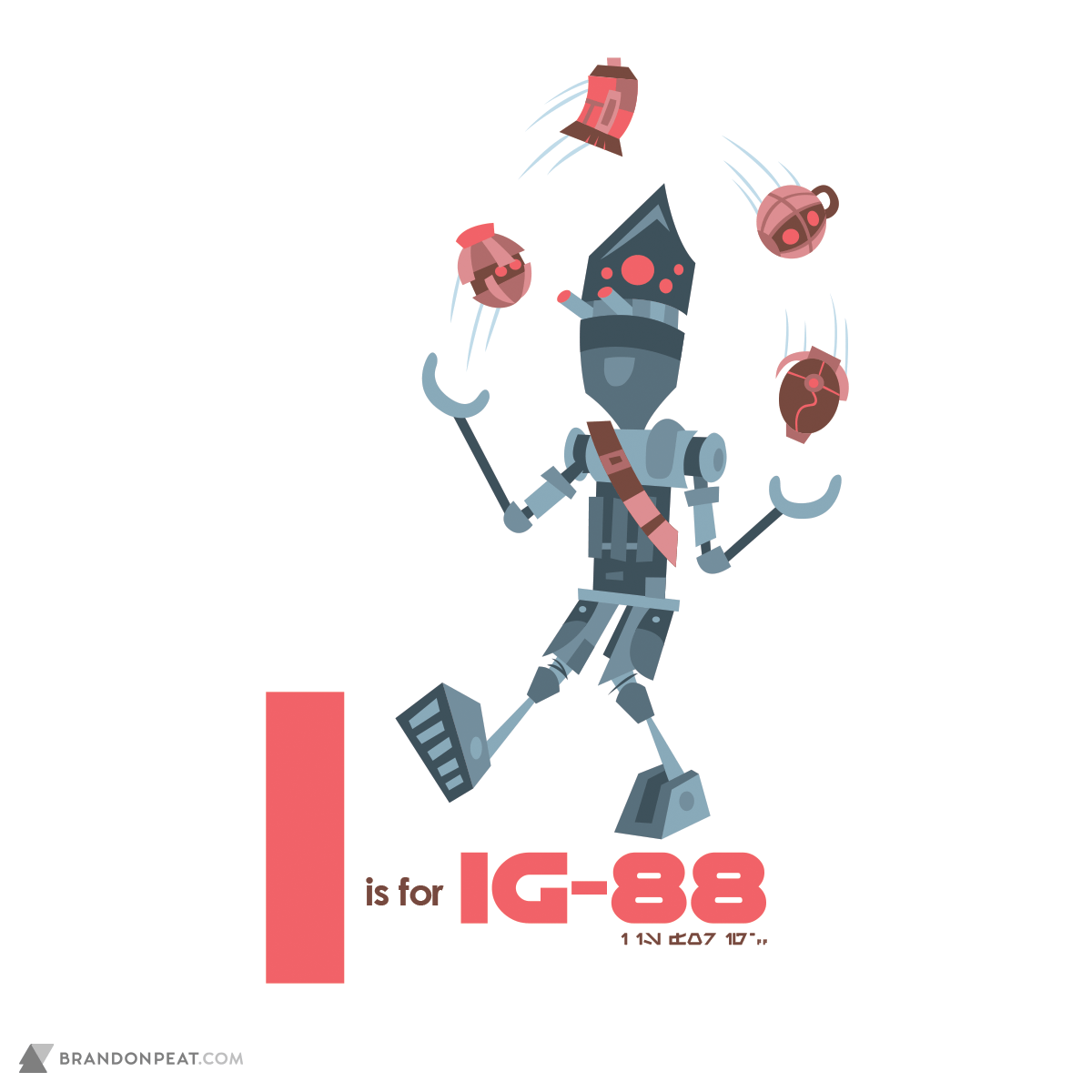 A Is For Ackbar: I Is For IG-88