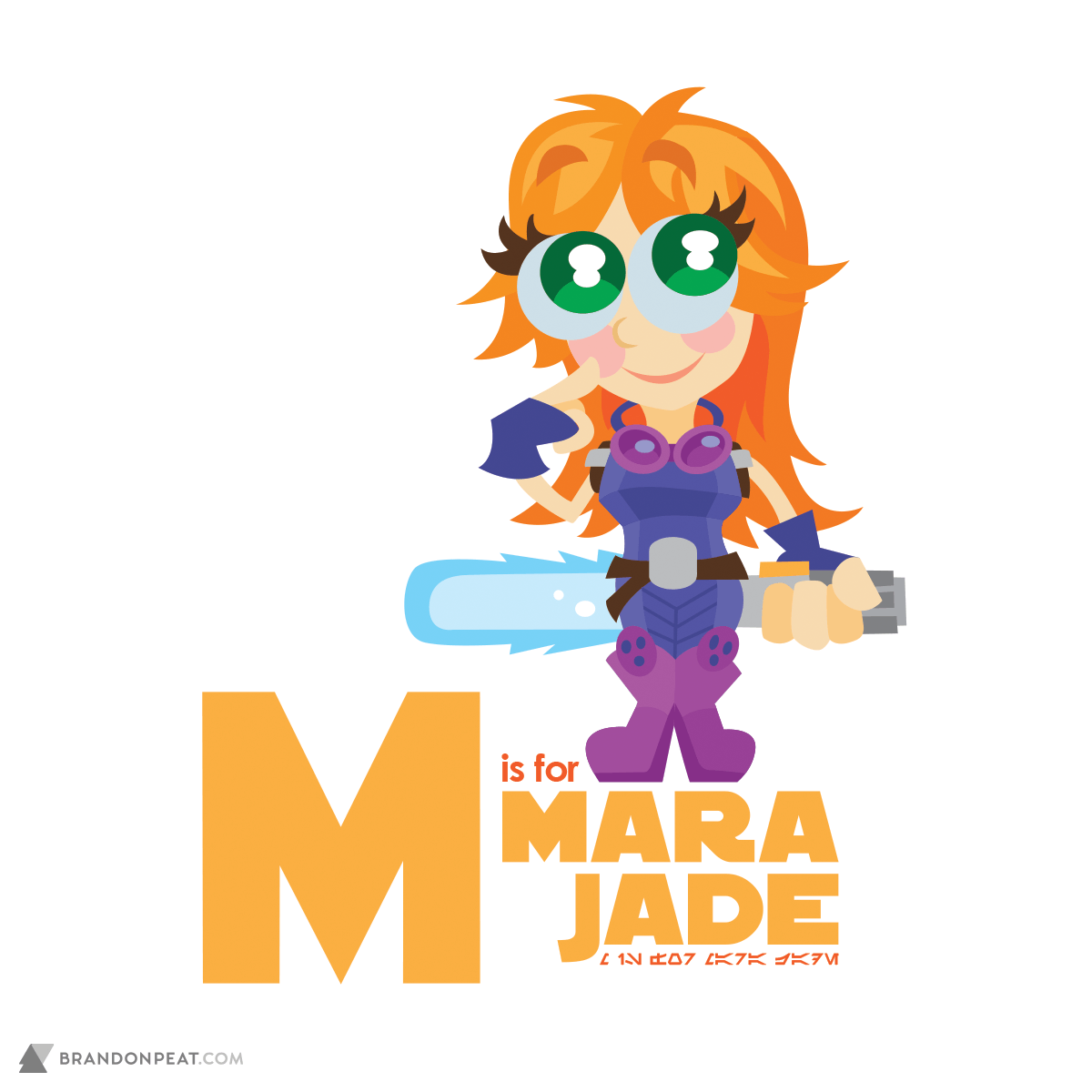 A Is For Ackbar: M Is For Mara Jade