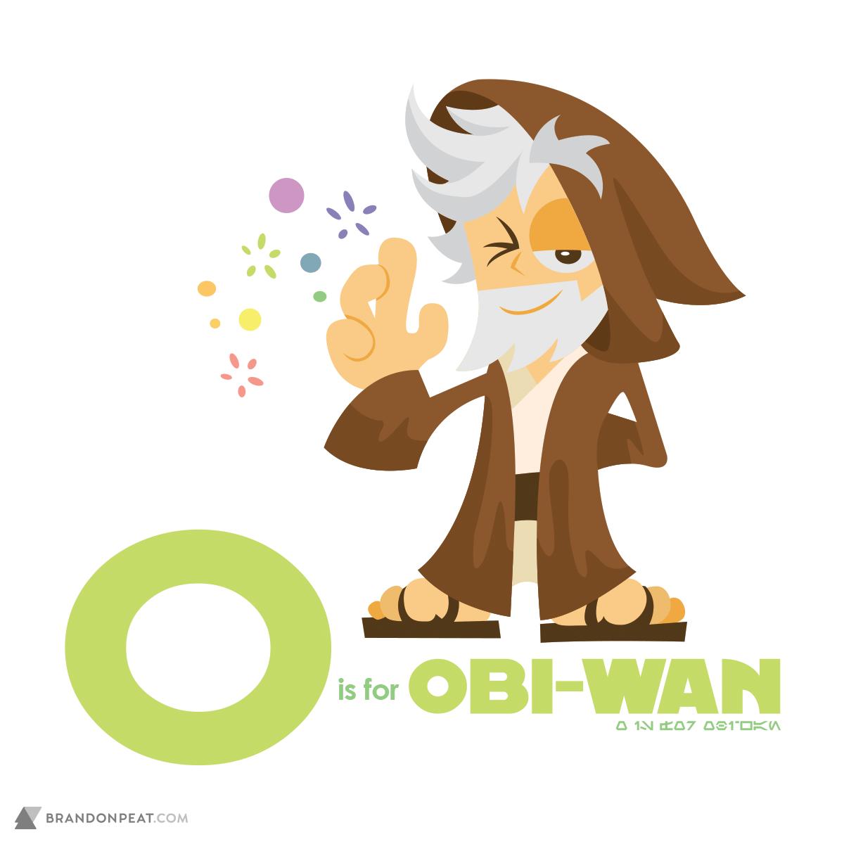 A Is For Ackbar: O Is For Obi-Wan Kenobi
