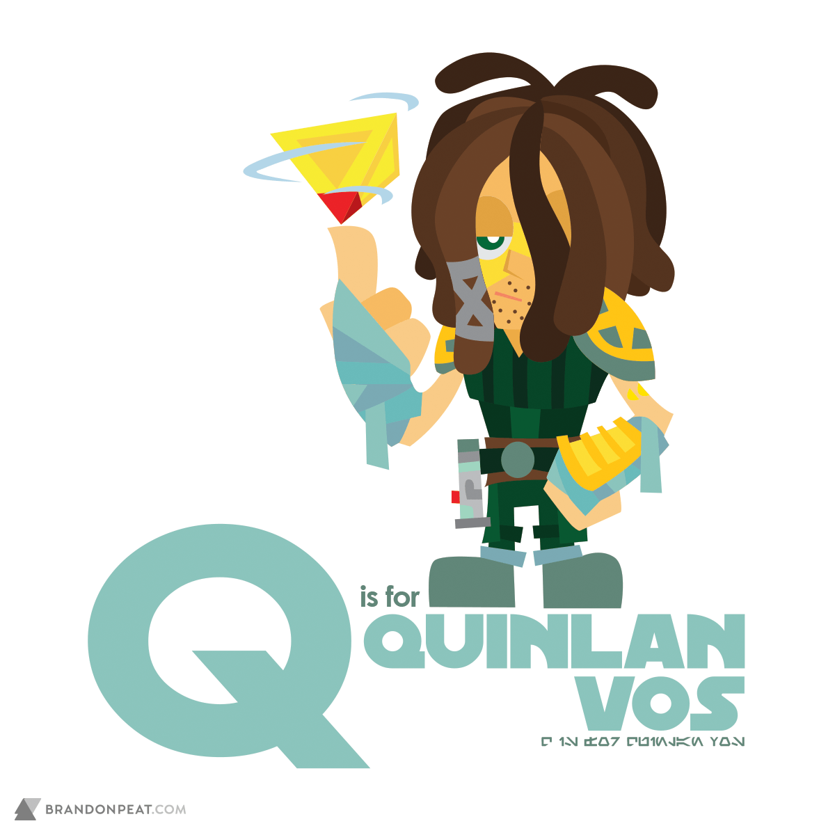 A Is For Ackbar: Q Is For Quinlan Vos