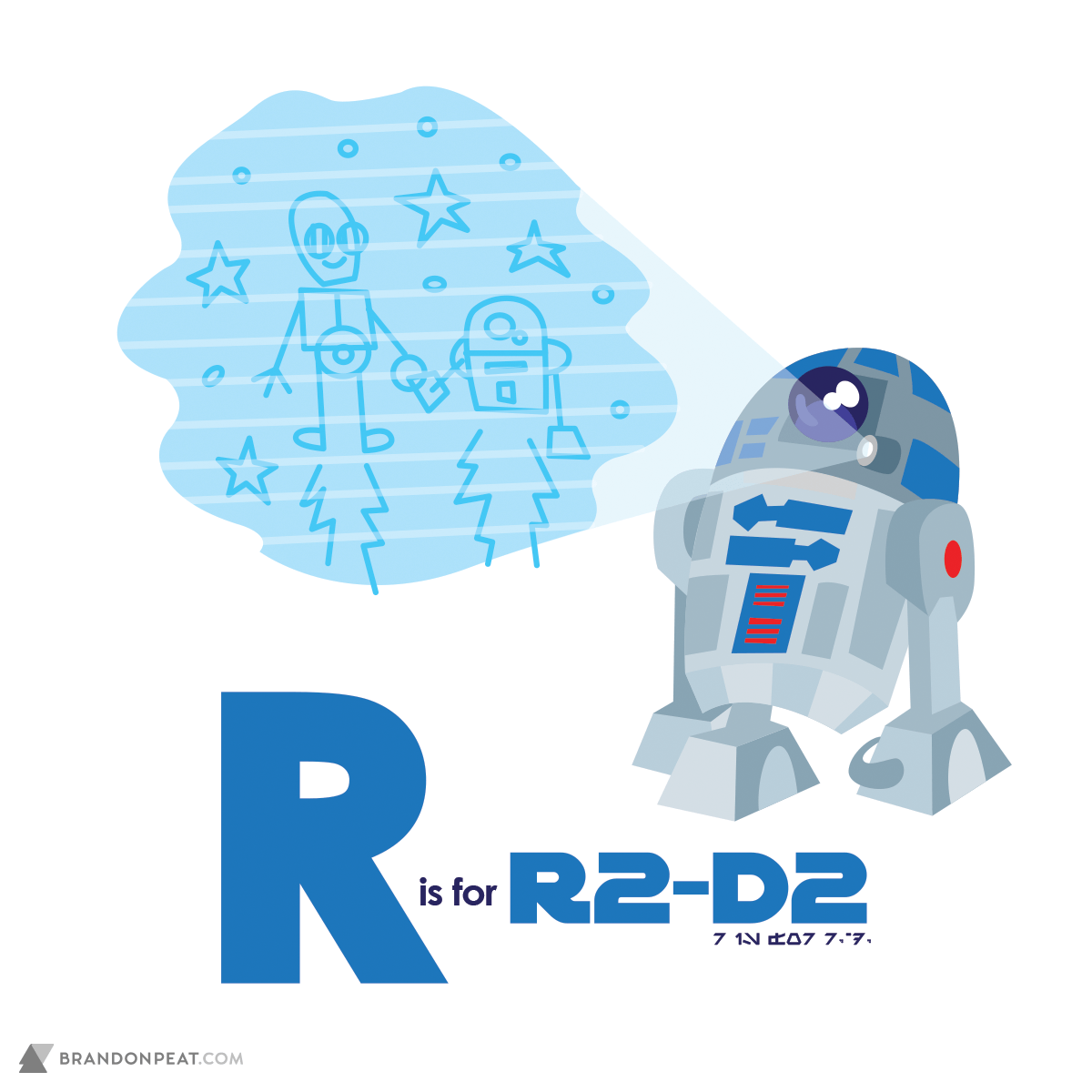 A Is For Ackbar: R Is For R2-D2