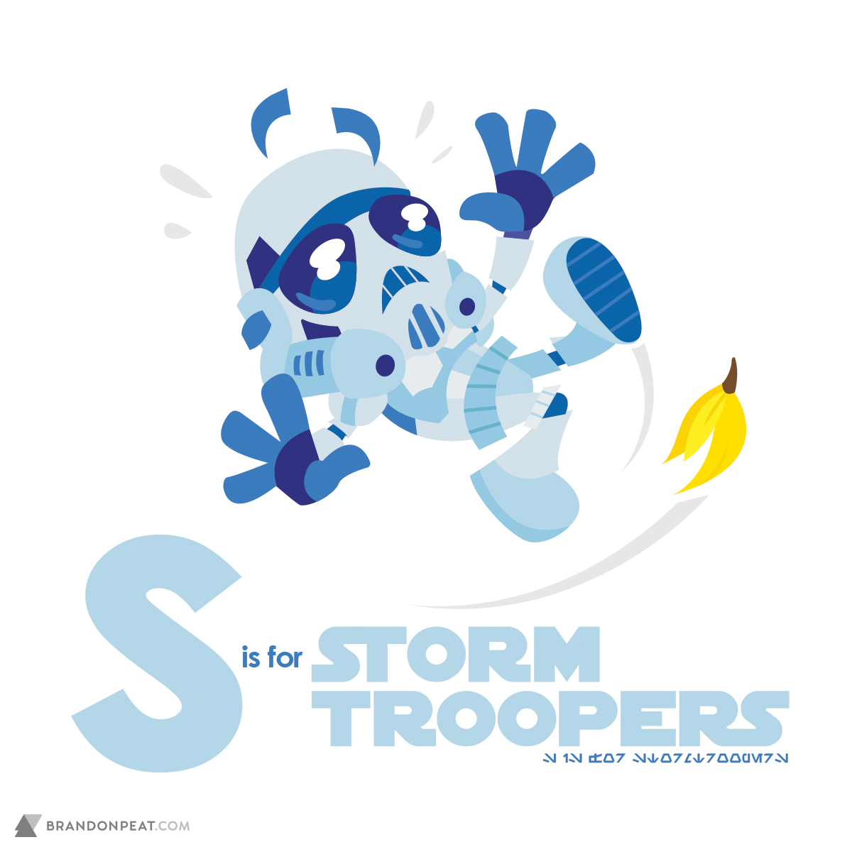 A Is For Ackbar: S Is For Stormtroopers