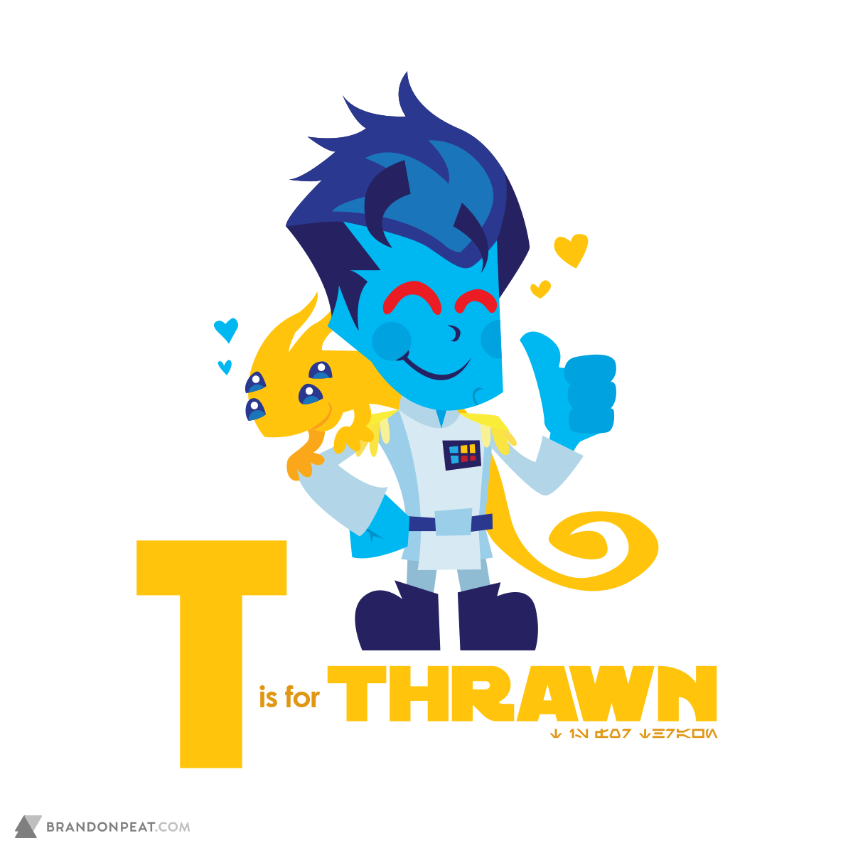 A Is For Ackbar: T Is For Thrawn