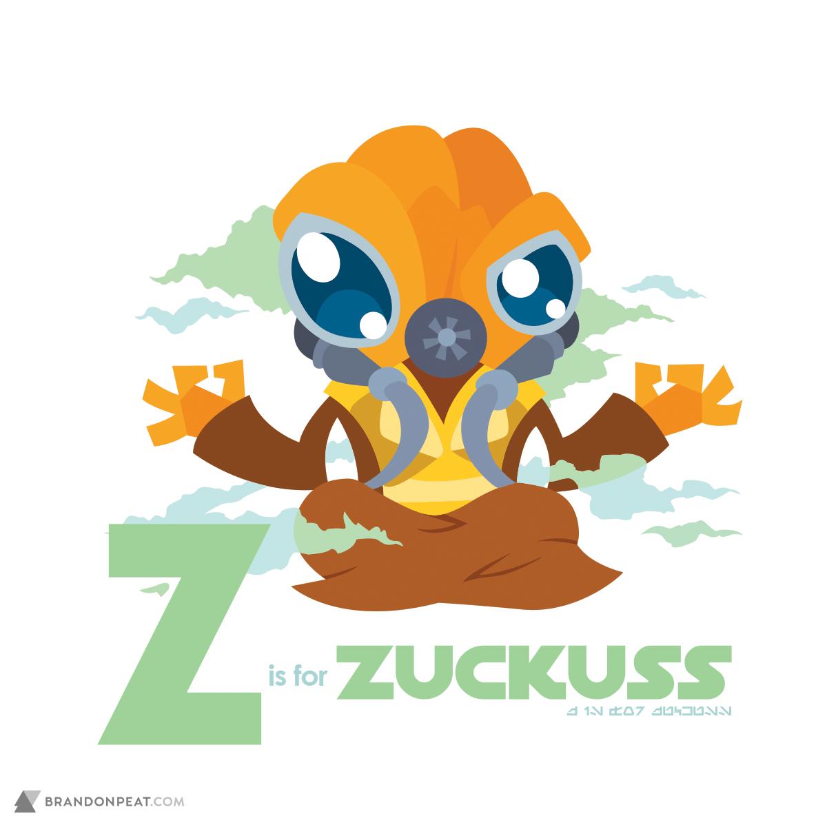 A Is For Ackbar: Z Is For Zuckuss