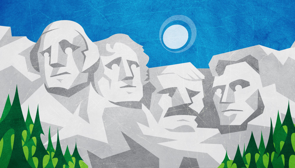 Fifty Finder: Mt. Rushmore