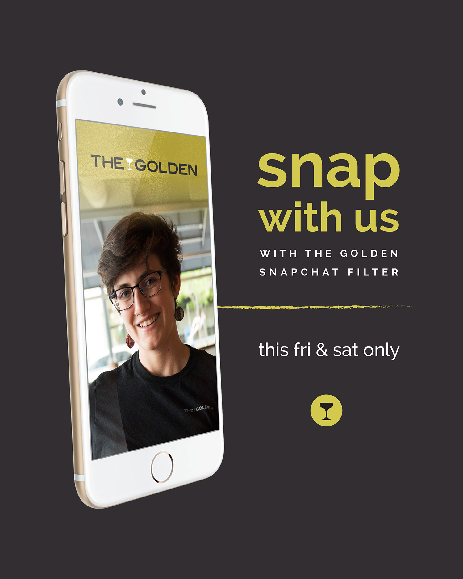 The Golden: Snapchat Filter