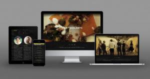 The Golden: Website Design & Development