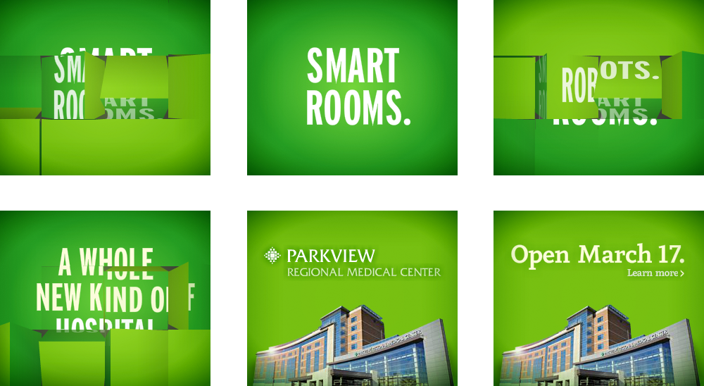 Parkview Regional Medical Center: Digital Ad