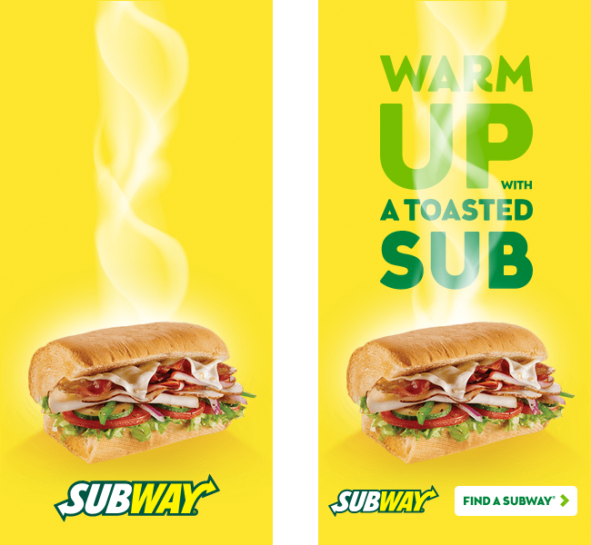 Subway: Digital Ad